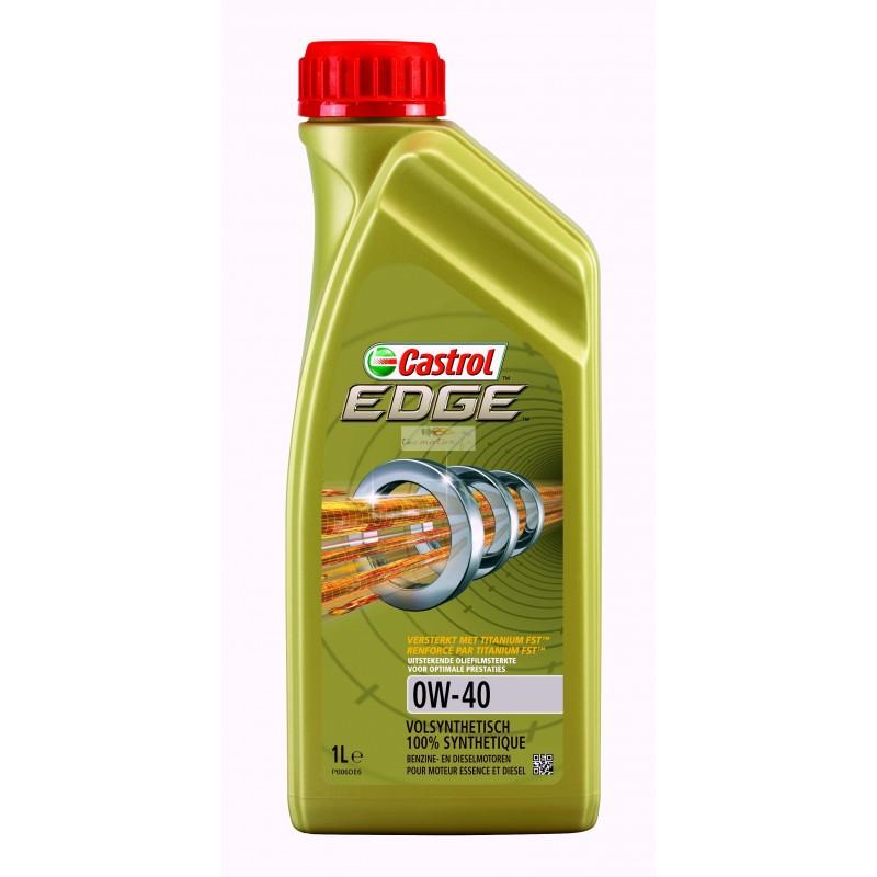 Castrol edge 0w40 titanium huile moteur voiture
