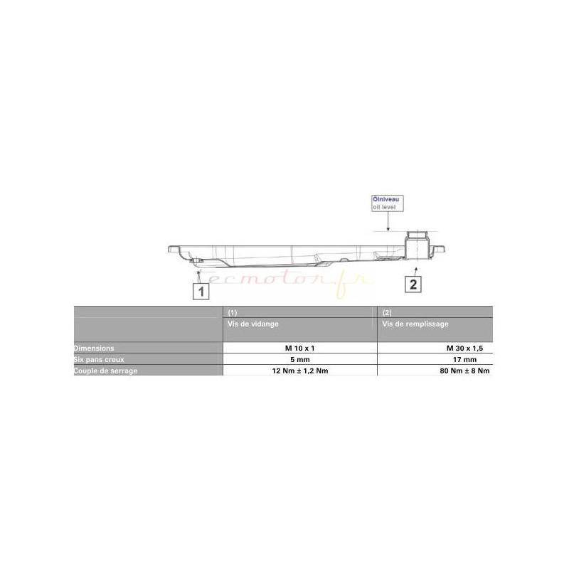 kit vidange zf pour boite automatique audi a6 4f2 c6 3 0 tdi quattro. Black Bedroom Furniture Sets. Home Design Ideas