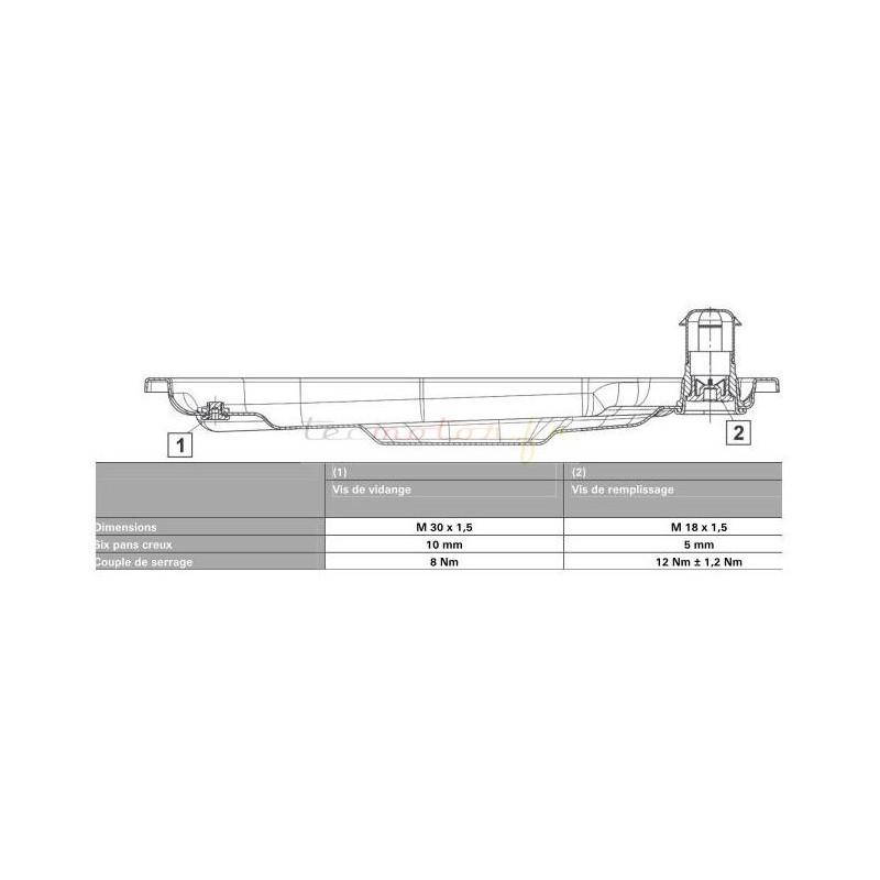 kit vidange zf pour boite automatique audi a5 8t3 s5 quattro. Black Bedroom Furniture Sets. Home Design Ideas