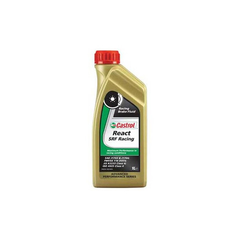 castrol react srf racing bidon 1l liquide de frein comp tition. Black Bedroom Furniture Sets. Home Design Ideas