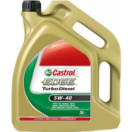 castrol edge turbo diesel 5w40 huile moteur voiture. Black Bedroom Furniture Sets. Home Design Ideas