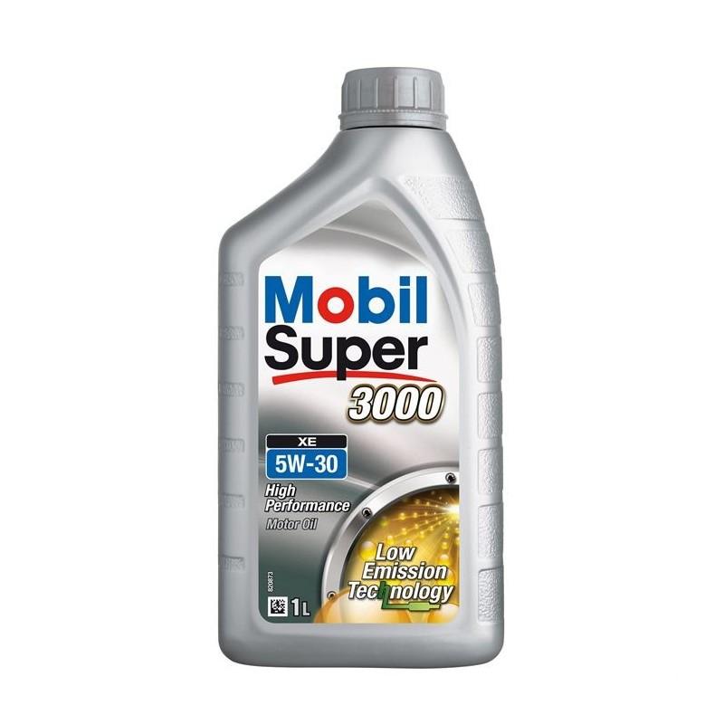 mobil super 3000 xe 5w 30 huile moteur bmw mercedes. Black Bedroom Furniture Sets. Home Design Ideas