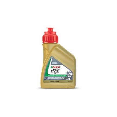 CASTROL Synthetic Fork Oil 2.5w , 5w et 10w en 0.5L