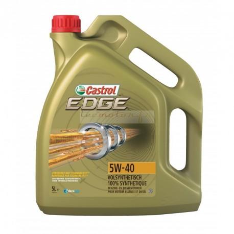 Castrol Edge 5W-40 Titanium FST bidon 5L ou 1L