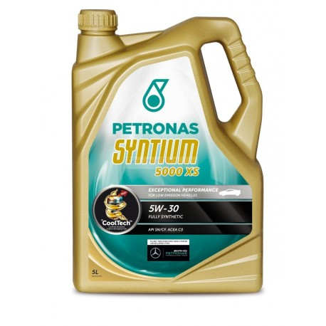 Huile PETRONAS Syntium 5000 XS 5W-30 BMW Mercedes Opel