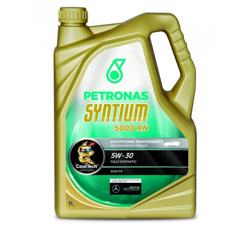 huile moteur petronas syntium 5000 rn 5w 30 pour renault dci. Black Bedroom Furniture Sets. Home Design Ideas