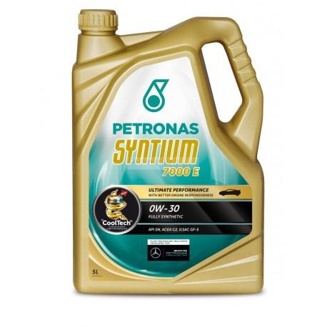 Huile PETRONAS Syntium 7000 E 0W-30 Essence & Diesel FAP
