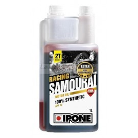 IPONE huile 2T Samouraï Racing 100% synthèse