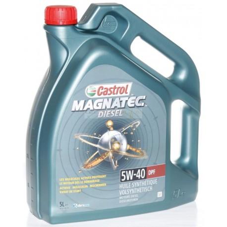 Castrol Magnatec Diesel 5W-40 DPF bidon 2L ou 5L