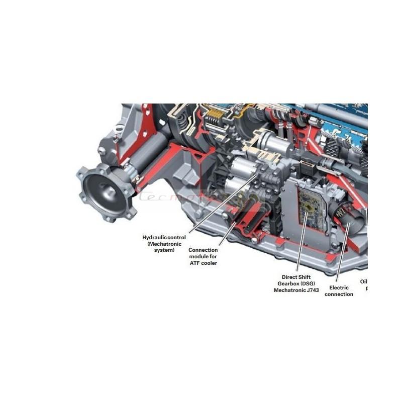 Kit réparation mécatronique boite automatique 0B5, S-tronic