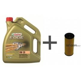 Pack vidange huile 0w30 filtre à huile Purflux L407 BMW serie1, serie3, serie5, X1, X3, X5, X6