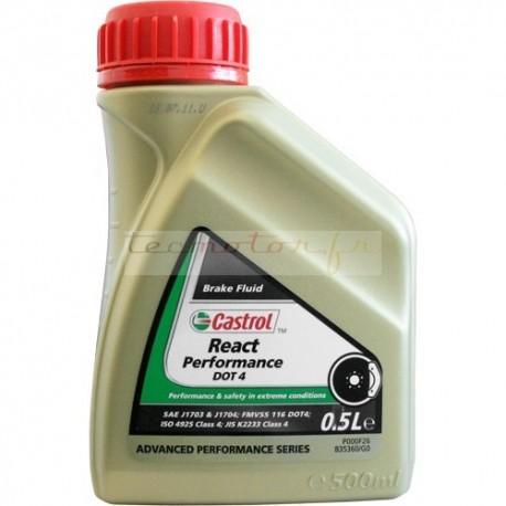 Castrol React Performance Super DOT 4 bidon 500ml