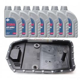 Kit vidange adaptable pour boite automatique ZF 6HP19 , 6HP19 X , 6HP21 , 6HP21 X Fuchs