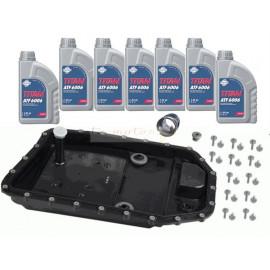 Kit vidange ZF pour boite automatique ZF 6HP19 , 6HP19 X , 6HP21 , 6HP21 X huile Fuchs 6006